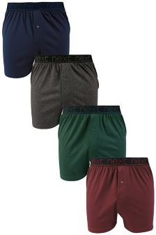 Colour Loose Fit Boxers Four Pack