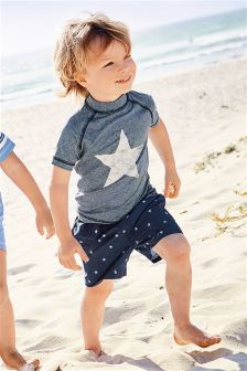 Star Swim Short And Vest Set (3mths-6yrs)