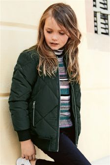 Quilted Bomber Jacket (3-16yrs)