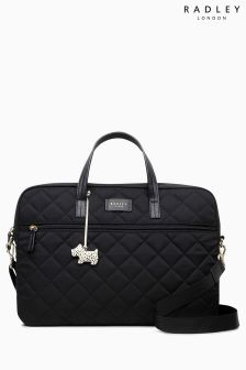 Radley Black Hilly Fields Large Laptop Multiway