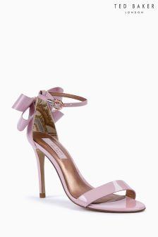 Ted Baker Light Pink Sandalo Back Bow Sandal