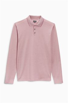 Long Sleeve Premium Poloshirt