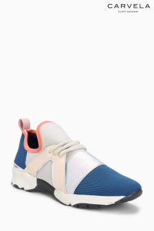 Carvela Blue/Pink Lamar Trainer
