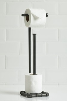 Hudson Toilet Roll Stand And Store