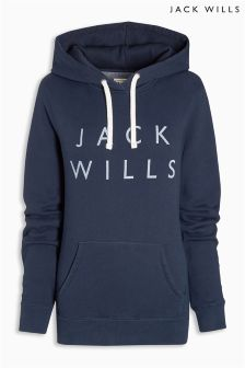 Jack Wills Navy Hunston Hoody