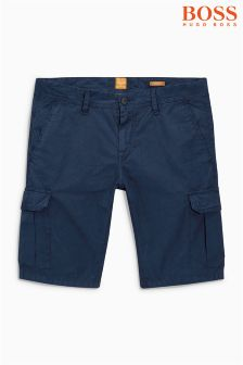 Boss Orange Navy Cargo Short