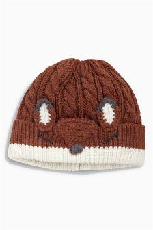 Fox Hat (0mths-2yrs)