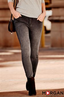 Morgan Low Rise Skinny Jeans