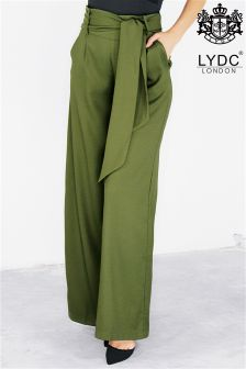Lydc Tie Waist Maxi Trousers