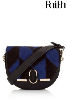 Faith Patchwork Saddle Bag