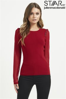 Star By Julien Macdonald Chain Shoulder Jumper