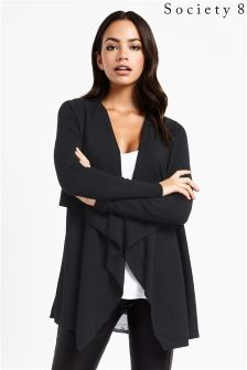 Society 8 Waterfall Front Cardigan