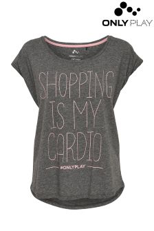 Only Play Shopping Cardio Tee