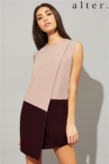 Alter Colour Block Shift Dress