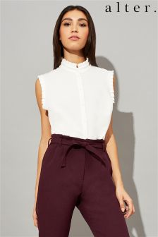 Alter Frill Sleeveless Shirt