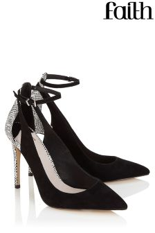Faith Ankle Strap Detailed Court