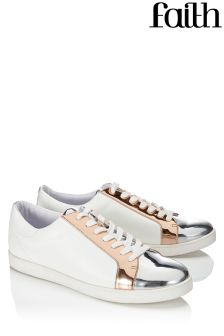 Faith Metallic Detailed Trainers