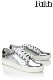 Faith Lace Up Trainers