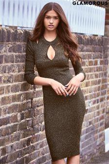 Glamorous Cold Shoulder Bodycon Dress