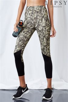 Lipsy Camou Print Running Leggings
