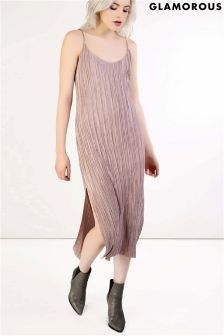 Glamorous Pleated Dress