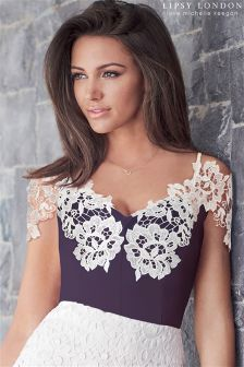 Lipsy Love Michelle Keegan Lace Trim Body