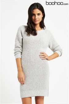Boohoo Soft Knit Jumper Dress
