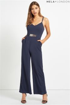 Mela Loves London Strappy Jumpsuit