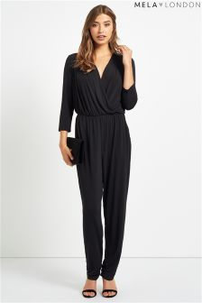 Mela Loves London Wrap Detail Jumpsuit