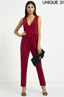 Unique 21 Belted Jumpsuit