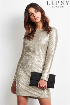 Lipsy All Over Sequin Bodycon Dress