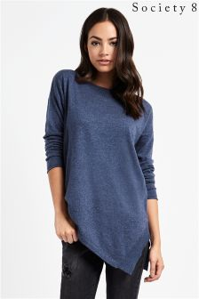 Society 8 Asymmetrical Jumper