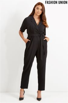 Fashion Union Curve Tailored Jumpsuit