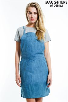 Daughters Of Denim Pinafore Dress