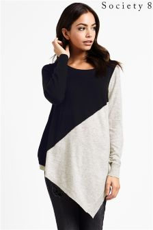 Society 8 Asymmetric Jumper