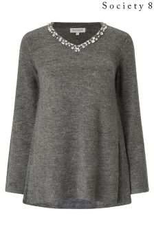 Society 8 Embellished Jumper