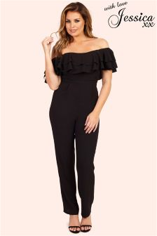 Jessica Wright Frill Top Jumpsuit