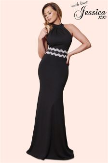Jessica Wright Halter Maxi Dress