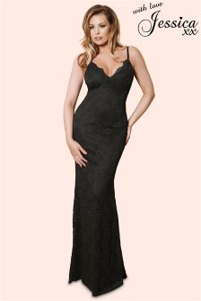 Jessica Wright Lace Maxi Dress