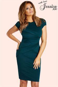 Jessica Wright Panelled Dress