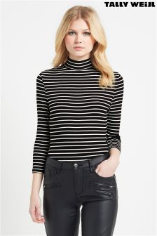 Tally Weijl High Neck Stripe Body