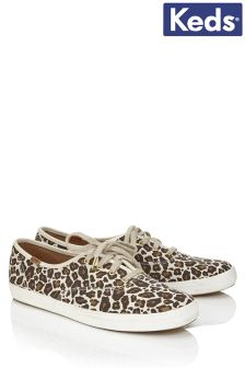 Keds Animal Print Trainers