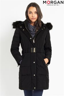 Morgan Double Front Belted Jacket