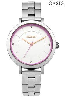 Oasis Stainless Steel Bracelet Watch