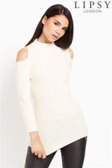Lipsy Cold Shoulder Jumper