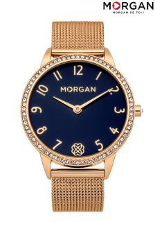 Morgan Mesh Bracelet Watch