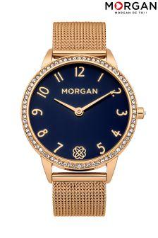 Morgan Mesh Bracelet Watch