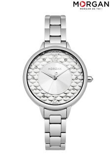 Morgan Stainless Steel Bracelet Watch