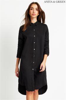 Anita & Green Denim Shirt Dress