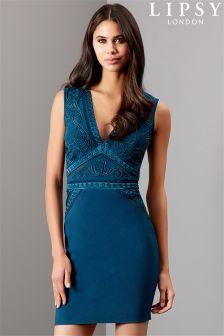 Lipsy Cornelli Artwork Bodycon Dress